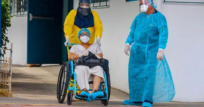 Ocho personas murieron este Domingo a causa del COVID-19 en El Salvador
