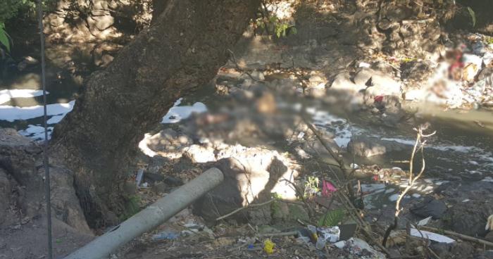 Encuentran el cadáver de un hombre riberas del río Tomayate en Apopa
