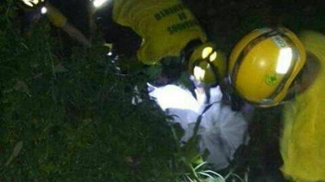 Recuperan cadáver de un barranco en Reparto Las Cañas, Ilopango