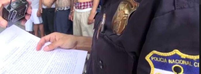 PNC captura a 12 pandilleros en un operativo en Sonsonate