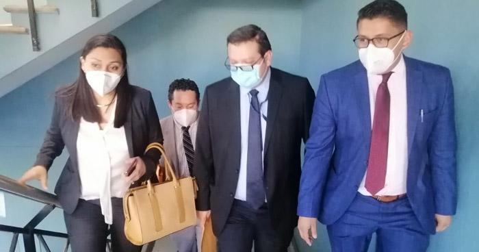 Fiscalía presenta acusación contra el director de la PNC por Incumplimiento de Deberes