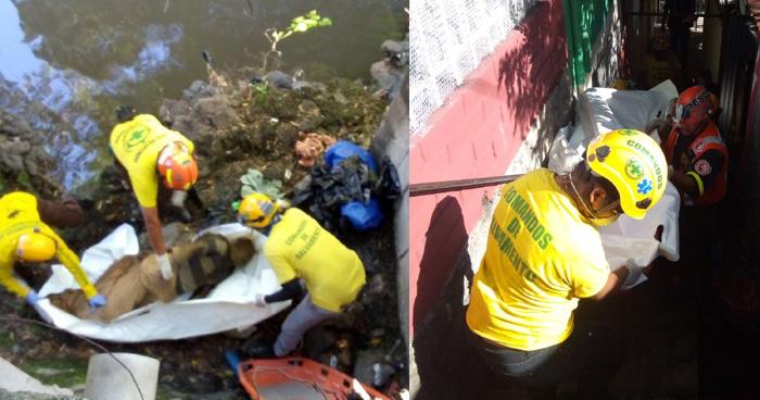 Recuperan cadáver en estado de putrefacción en quebrada de San Salvador