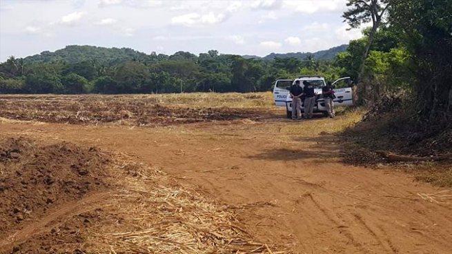 Reportan hallazgo de restos humanos semienterrados en un cañal de Usulután