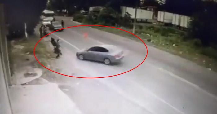 Difunden video de cómo ocurrió el accidente en límites entre Ilopango y San Martín