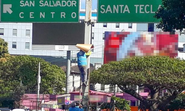 FMLN y ARENA se ponen de acuerdo para permitir propaganda electoral en vía pública