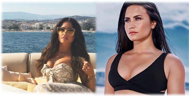 Seguidores de Demi Lovato aseguran que se hizo un retoque plástico en el busto