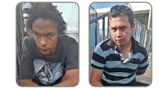 Capturados tras robar en gasolinera de San Salvador