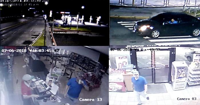 Videos comprueban el recorrido que hizo Ronald Velásquez para desahacerse del cuerpo de Jocelyn