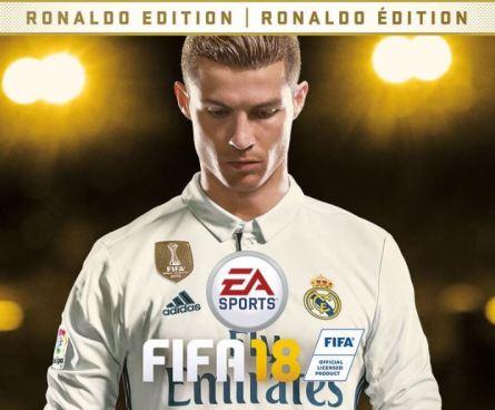 FIFA 18 tendrá como portada a la estrella del Real Madrid, Cristiano Ronaldo