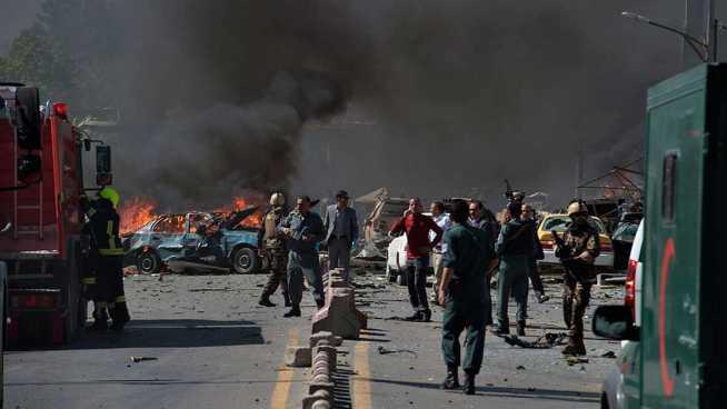 Al menos siete muertos en ataque durante entierro en Kabul