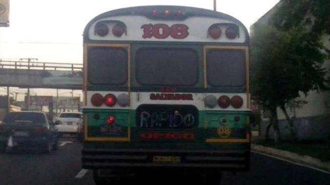 Segundo paro de la Ruta 108 en menos de un mes por amenazas de pandillas