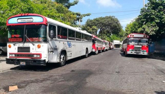 Ruta 7C de Soyapango amanece en paro de labores por amenaza de grupos criminales