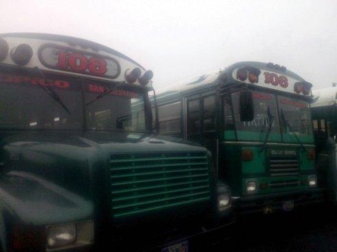Ruta 108: Segundo día de paro de labores por amenazas de pandillas