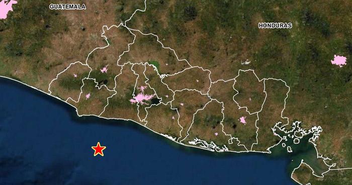 Sismo de 3,7 sacudió esta tarde la costa de La Libertad