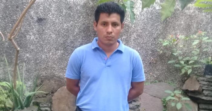 Capturan a sacristán, principal sospechoso de homicidio del padre Cecilio Perez en Juayúa