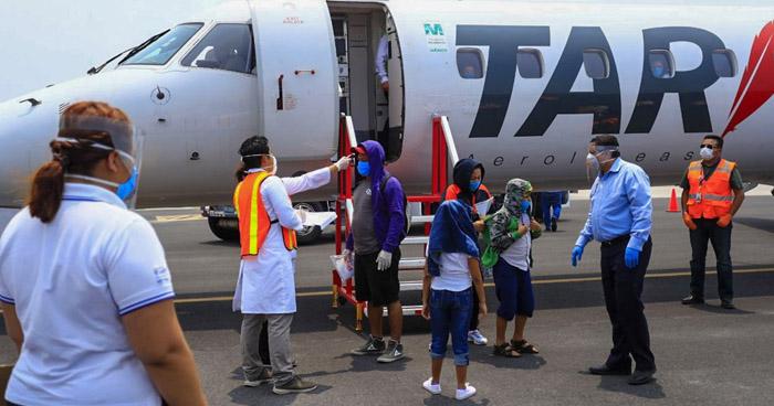 Salvadoreños que regresan de México intentaban llegar a EE.UU.