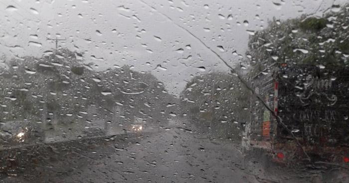 Probabilidad de lluvia para este lunes, con énfasis en la zona norte, central y occidente del país