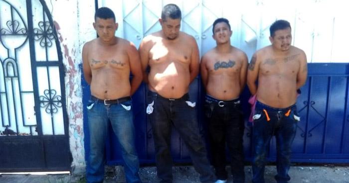 Rescatan a dos personas secuestradas en San Martín y capturan a 4 pandilleros tras persecución
