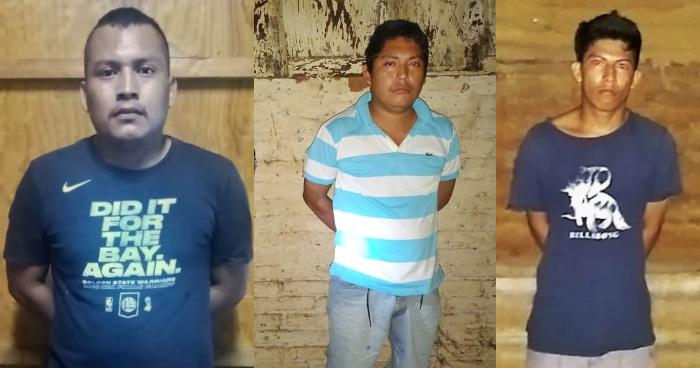 Capturan banda de secuestradores en Sonsonate, exigían miles de dólares por liberar a las víctimas