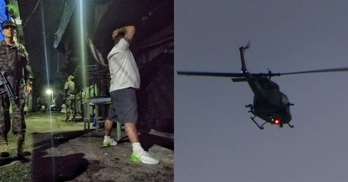 Helicópteros sobrevolaron el Área Metropolitana de San Salvador tras incremento de homicidios