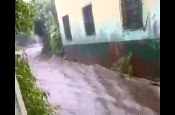 Una persona muere tras ser arrastrado por la corriente del río Sensunapán