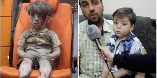 Omran, el niño que represento el sufrimiento en Siria