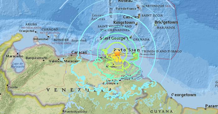 Sismo de magnitud 7.3 sacude Venezuela