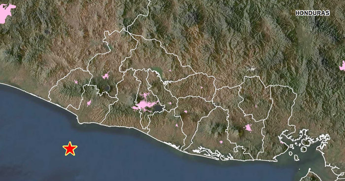 Sismo sacudió esta tarde parte de la zona occidental del país