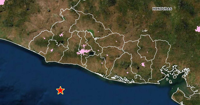 Sismo de 3.9 sacudió este domingo la costa de La Libertad