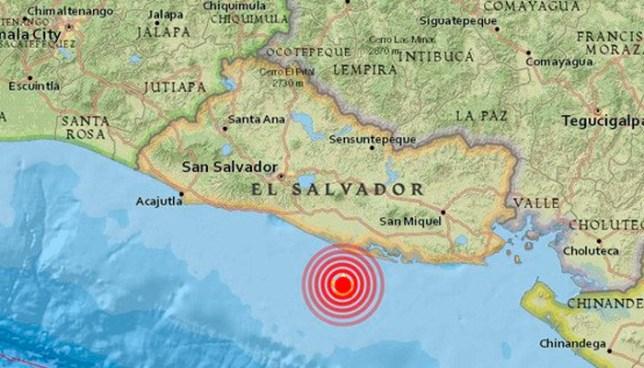 21 réplicas contabiliza el MARN, luego del fuerte sismo de 6.0 registrado ayer