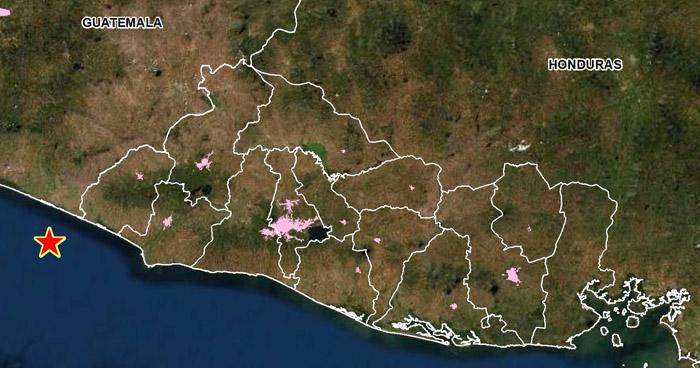 Sismo de 3.6 sacudió parte del occidente del país esta tarde