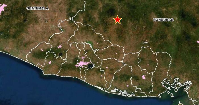 Sismo de 4.2 en territorio Hondureño sacudió parte de El Salvador
