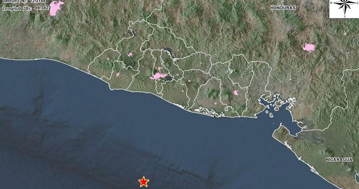 Sismo de 5.5 se registró esta mañana frente a la costa de La Paz