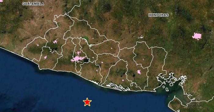 Sismo 3.6 sacudió esta tarde la costa de La Paz