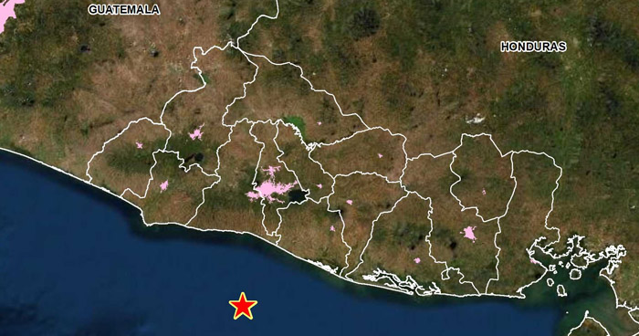 Dos sismos sacudieron esta tarde diferentes zonas costeras del país
