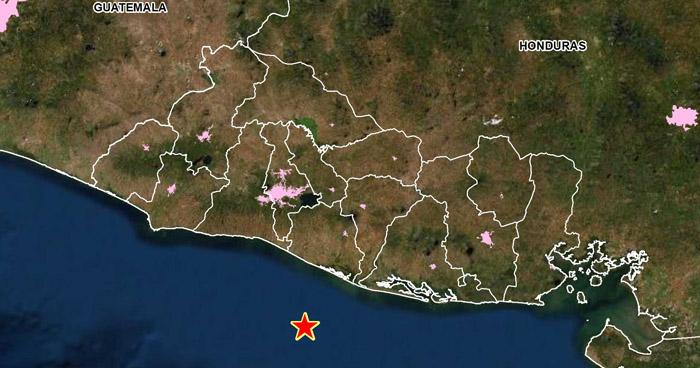 Sismo de 4.2 sacudió esta tarde la costa del departamento La Paz