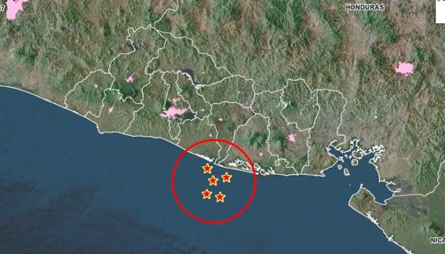 Al menos 6 replicas tras fuerte sismo en San Vicente esta tarde