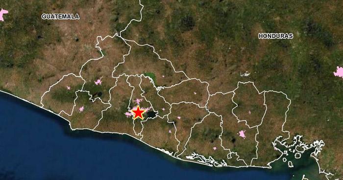 Sismo de 2.6 sacudió este domingo parte de San Salvador