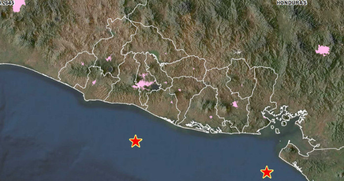 Dos sismos sacudieron el país la madrugada de este Domingo
