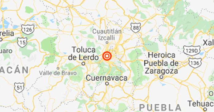 Cadena de sismos alertaron a la ciudad de México