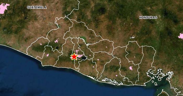 Se registran 44 replicas tras sismo de 3.9 en San Salvador