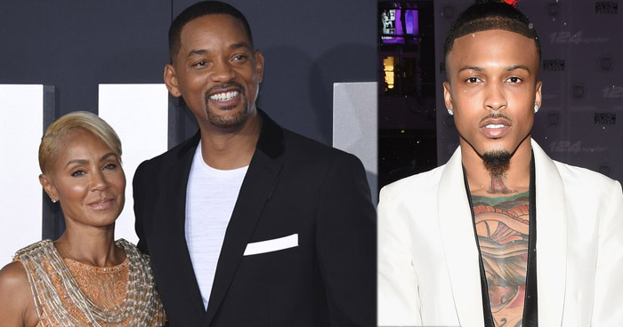 Jada Pinkett Smith habla con Will Smith sobre su aventura con August Alsina