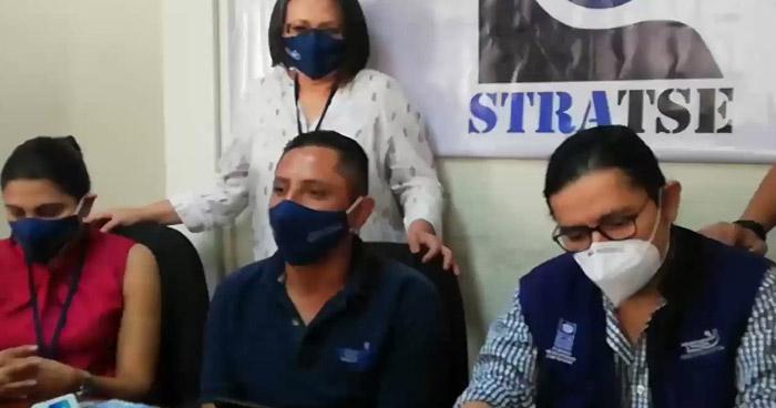 Sindicato del TSE pide a la Fiscalía actuar contra miembros de Nuevas Ideas por bloqueo de ayer
