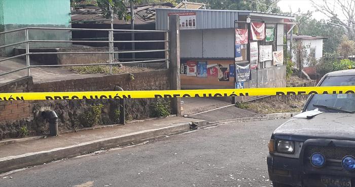 Hombre se suicida tras asesinar a su pareja en colonia de Sonsonate