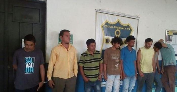 PNC captura a sujetos por homicidio agravado tentado y otros delitos en Morazán