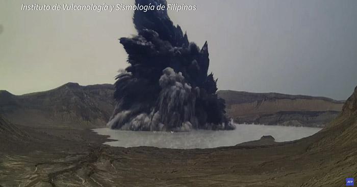 Alerta en Filipinas tras erupción del volcán Taal