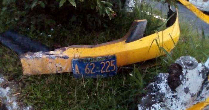 Capturan a taxista que ayudó a escapar a sujetos que hirieron a una persona en Santa Tecla