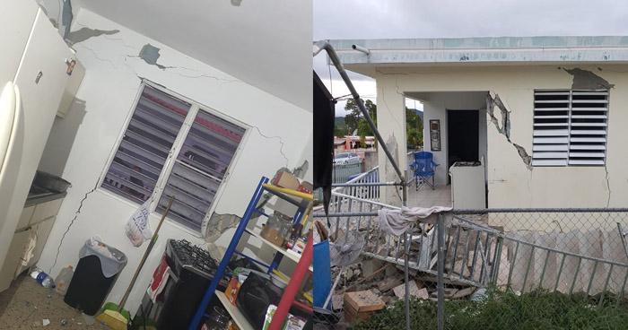 Cortes eléctricos tras fuerte sismo de 5.8 al sur de Puerto Rico