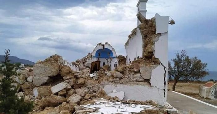 Sismo de 6.3 sacudió este martes la isla Creta, Grecia