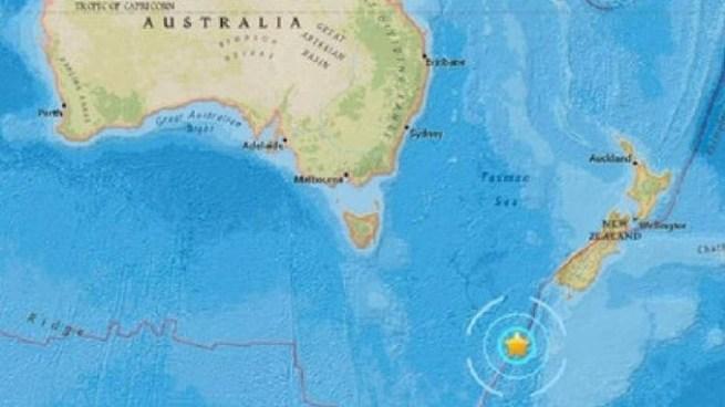 Terremoto de 6.1 sacude aguas de Nueva Zelanda